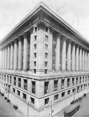 Historic Cook County Building Photo